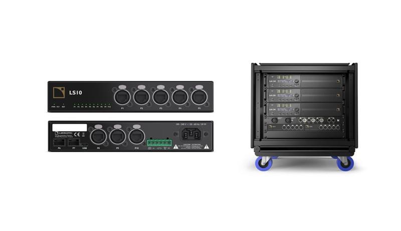 L-Acoustics LS10 сетевой коммутатор с AVB