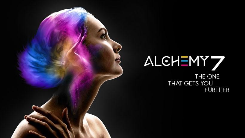 DTS Alchemy 7 световой прибор нового поколения